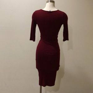 Black Bead Dresses - *new* red wine colored dress